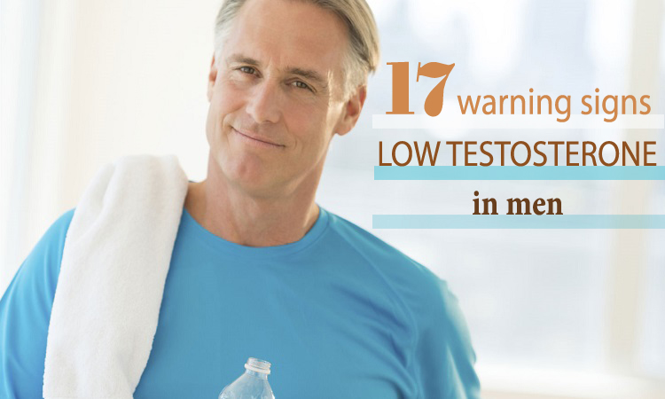 sign of low testosterone in men