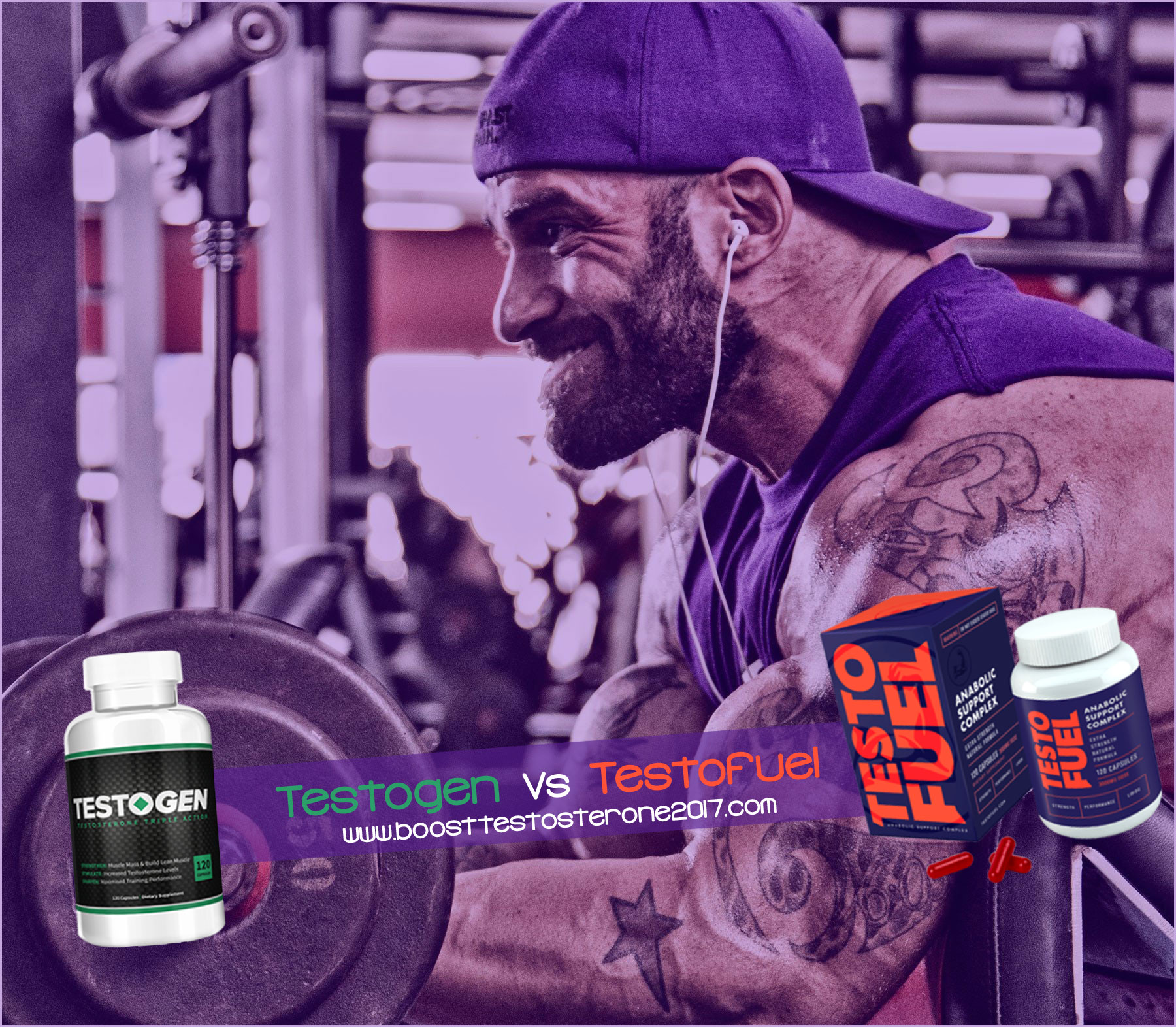 Testogen Vs Testofuel Testosterone booster supplement