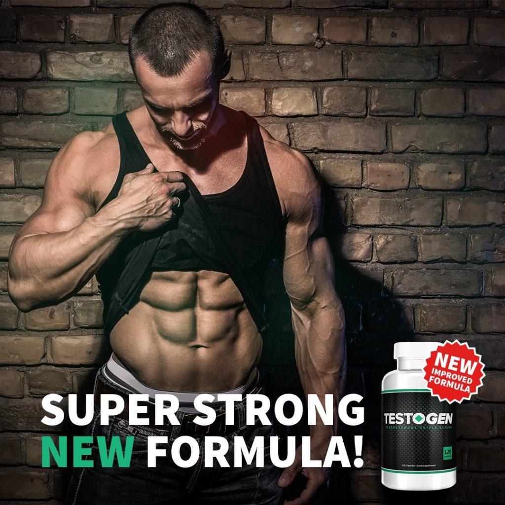 Testogen testosterone pills results